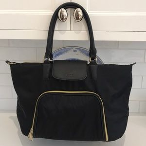 Beautiful Aimee Kestenberg Blk Nylon Bag-Like NEW